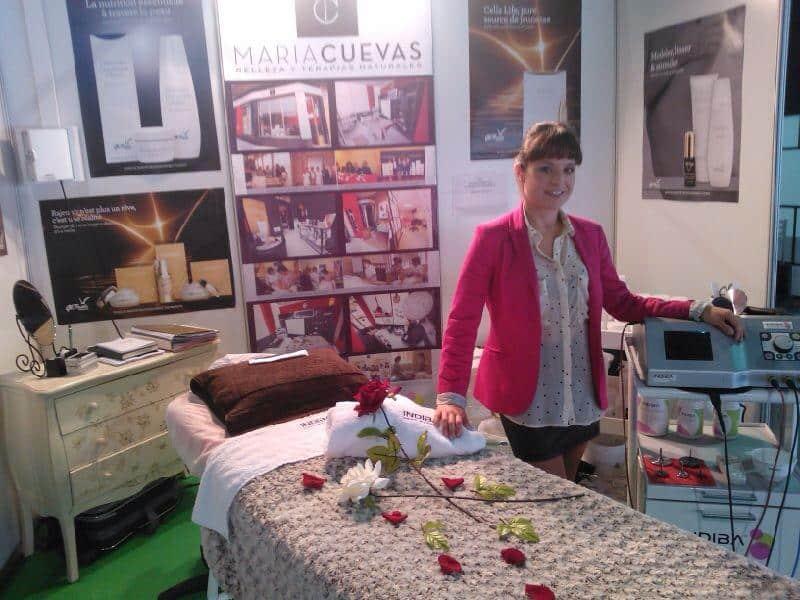 María Cuevas en Feria Vive el Deporte 2013